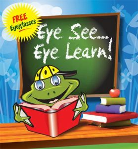 Frog reading in school - Eye See Eye Learn - Orillia, ON