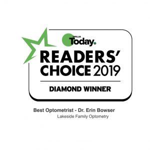 Readers Choice Award - Best Optometrist