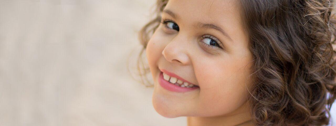 Young girl in Redondo Beach