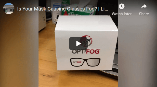 Is Your Mask Causing Glasses Fog? | Lifetime Vision Care
