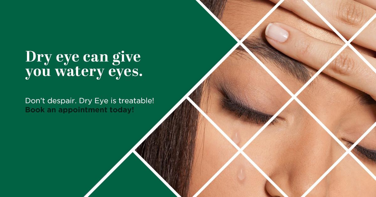 Dry Eye Watery Eyes