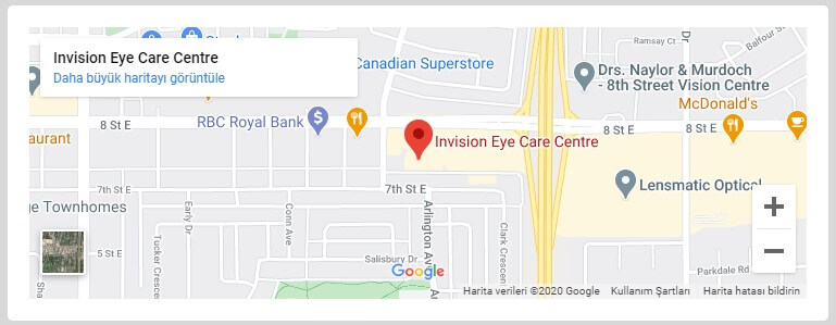 InVision Eye Care Map