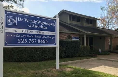 Wendy Waguespack Optometry Office