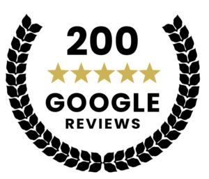 black 200 google reviews