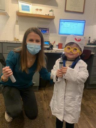 pediatric eye exam