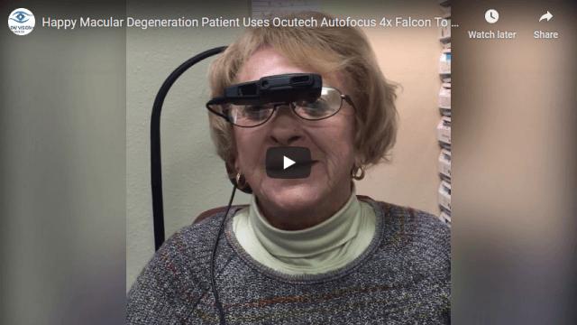 Screenshot 2020 03 30 Happy Macular Degeneration Patient Uses Ocutech Autofocus 4x Falcon To Regain Visual Acuity