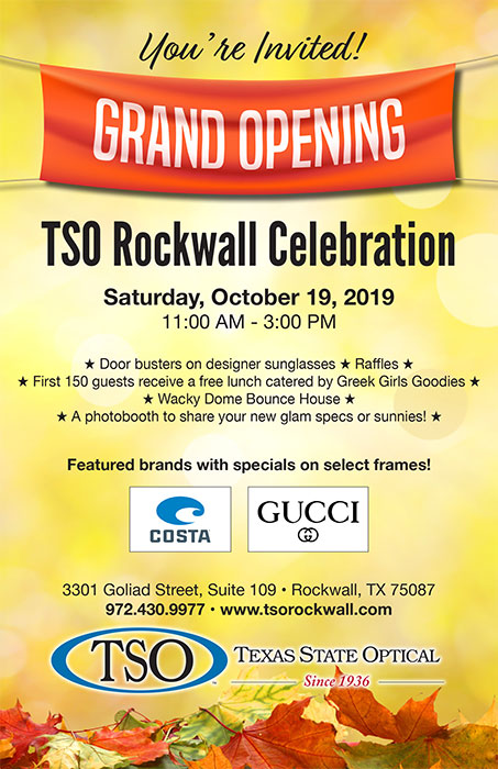 tso rockwall grand opening