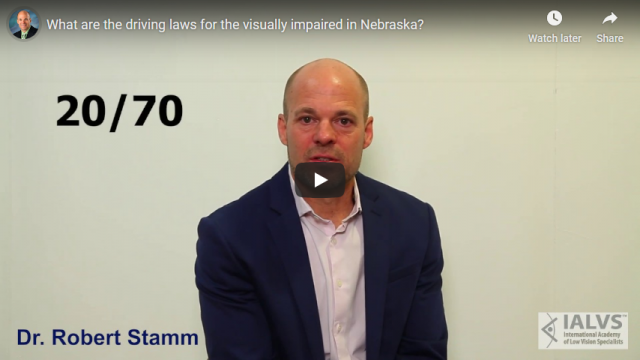 Screenshot 2019 07 20 What are the driving laws for the visually impaired in Nebraska YouTube