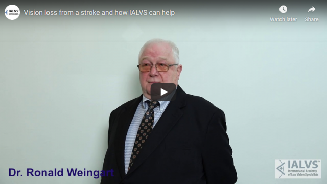 Screenshot 2019 11 06 Vision loss from a stroke and how IALVS can help   YouTube