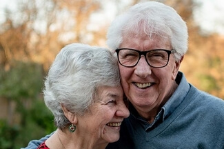 happy senior couple 325