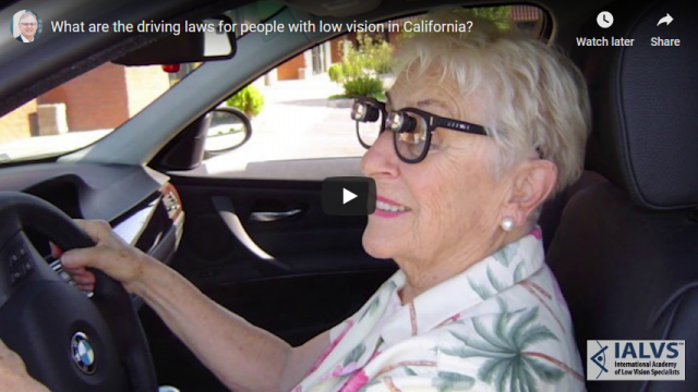 Screenshot 2019 06 10 What are the driving laws for people with low vision in California YouTube