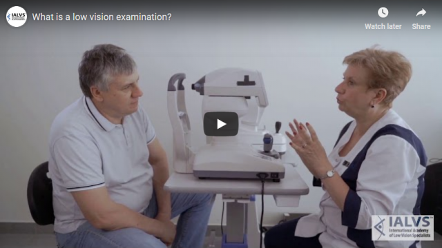 Screenshot 2019 06 10 What is a low vision examination YouTube