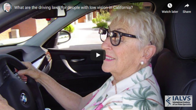 Screenshot 2019 08 30 What are the driving laws for people with low vision in California YouTube