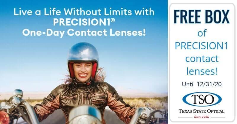 free precision1 contact lenses midlothian