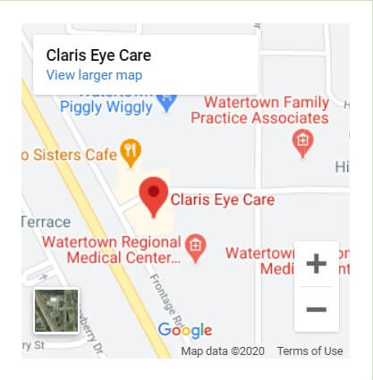 Claris Eye Care Map