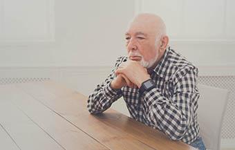 Senior Man Thinking Thumbnail