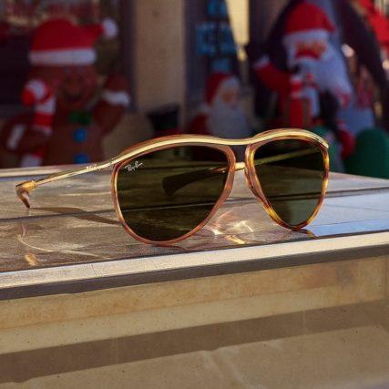 ray ban gold rimmed sunglasses.jpg