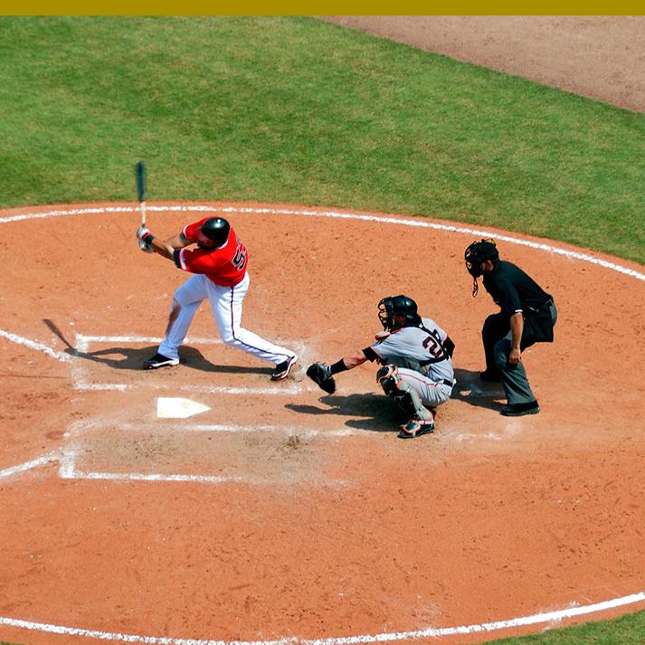 optometrist, baseball players playing game