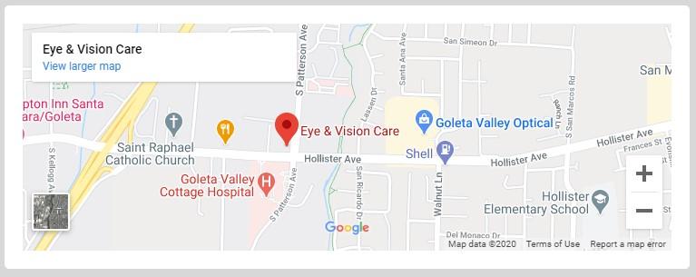 Eye  Vision Care Map