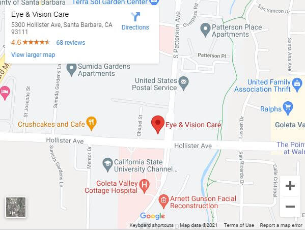 Eye & Vision Care Location