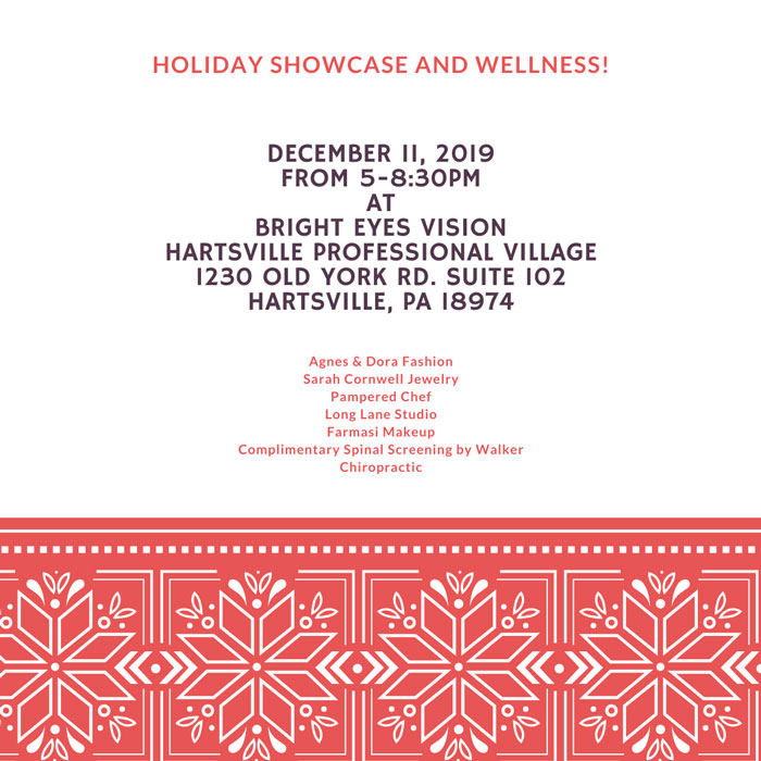 Copy of Holiday Showcase and Wellness
