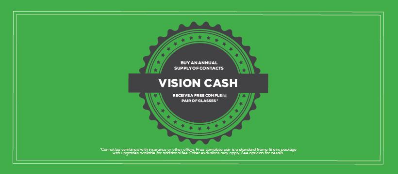 FirstEyecare VisionCash Webtile