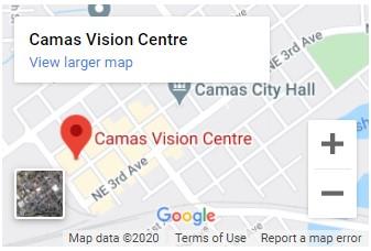 Camas Vision Centre Map