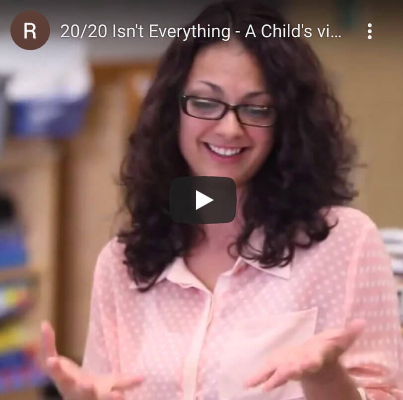 vision therapy video