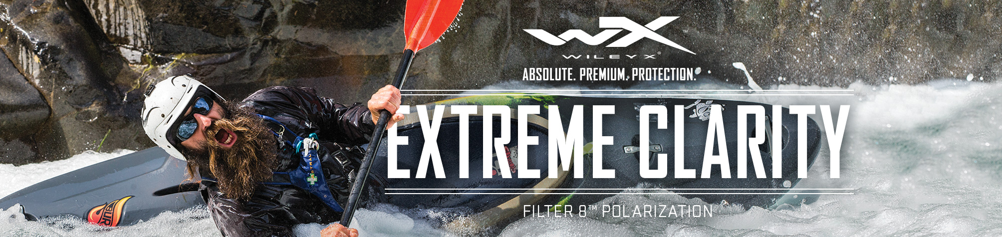 Wiley X Outdoor Extreme Clarity Banner