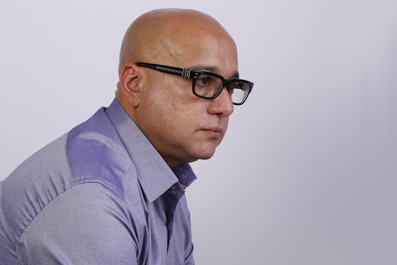 Man Glasses Sad 1280×853