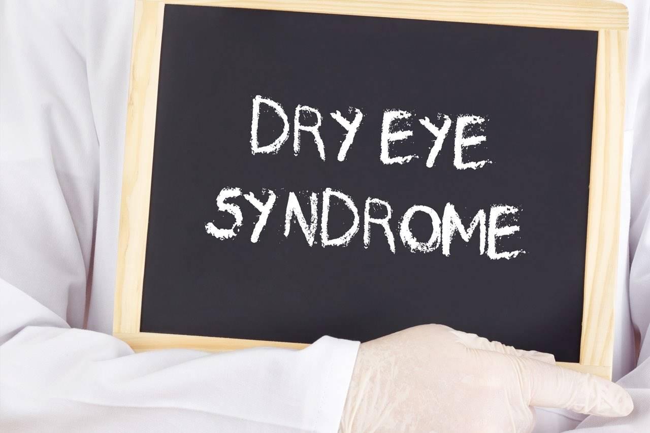 dry eye syndrome copy on blackboard 1280×853