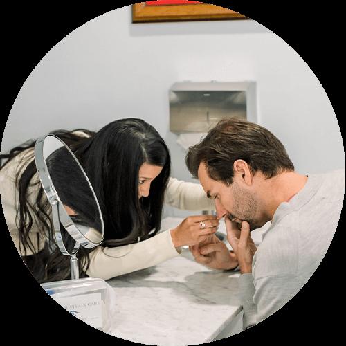 eye doctor, advantage of scleral lenses