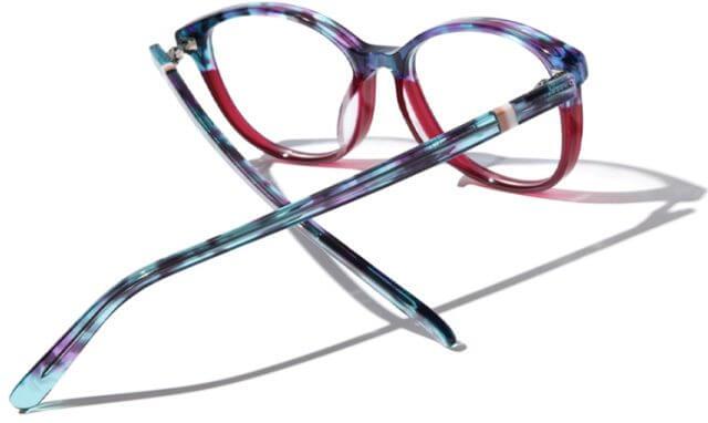 Glasses colourful