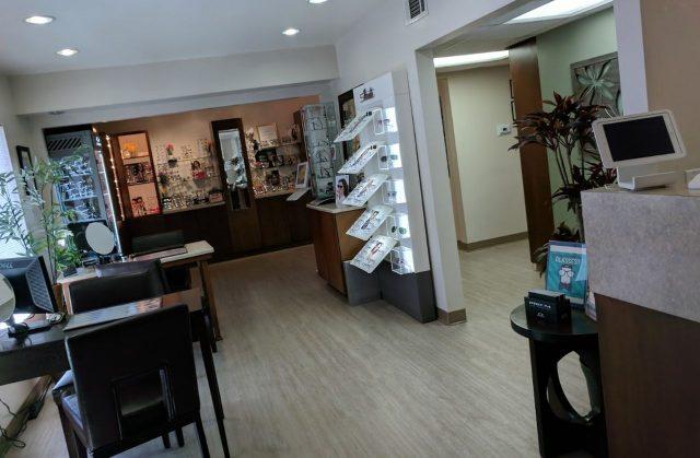 Oakbrook Optometry office
