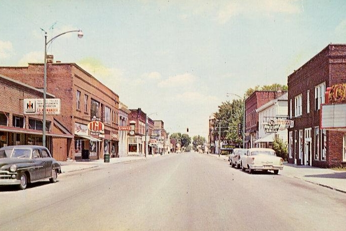 old town Bluffton OH
