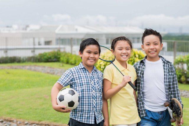 sports kids asian 640x427