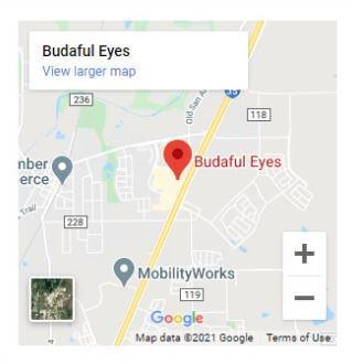 Budaful Eyes Map