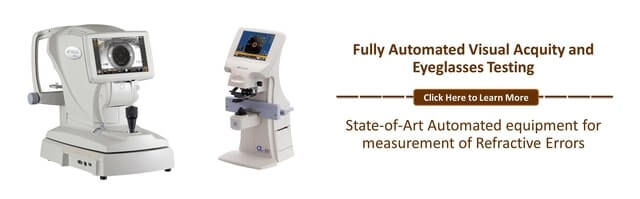 fully automated visual acquity
