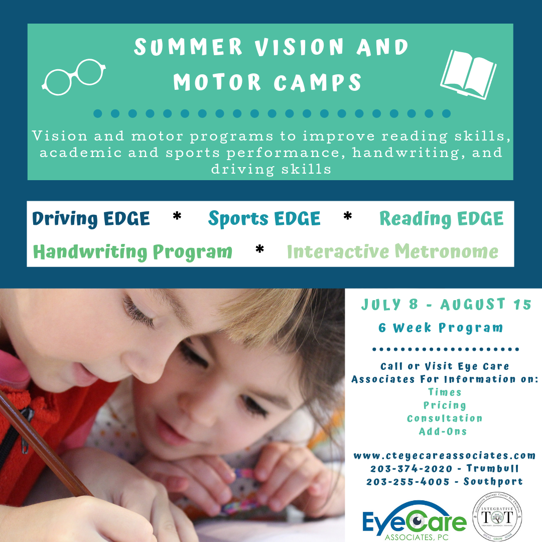 Vision Therapy Summer Camp Social Media Post
