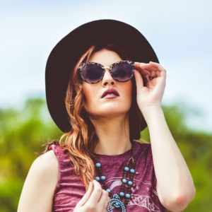 woman wearing sunglasses 300x300