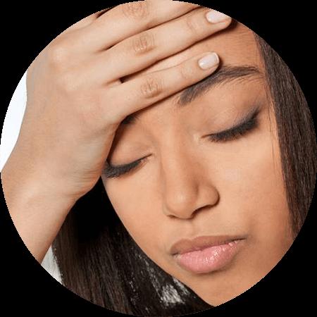 eye disorder headache african american woman 450