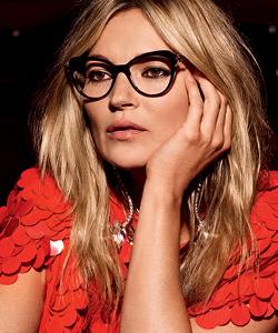 Model wearing Cat eyeglasses