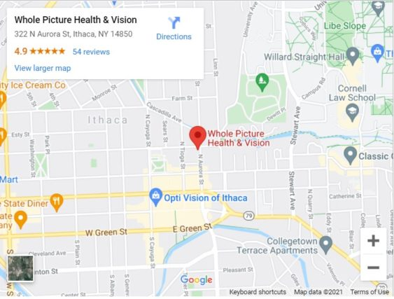 Your eye care clinic in Ithaca - Whole Picture Health & Vision