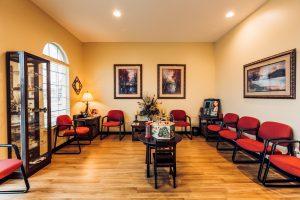 Mackey Eyecare - Waiting Room
