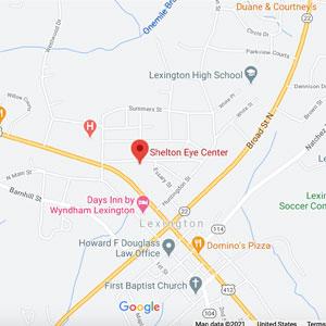 Shelton Eye Care in Lexington