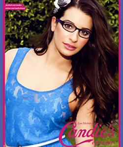 Model wearing Candies eyeglasses