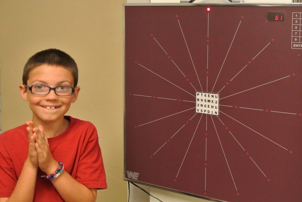vision therapy boy