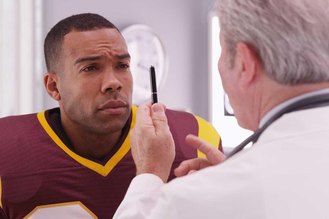 Sports vision training dr patient