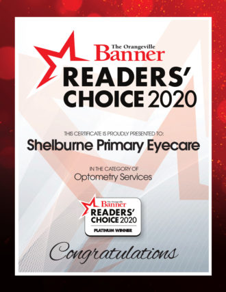 ReadersChoice ShelburneEyecare Platinum 2020