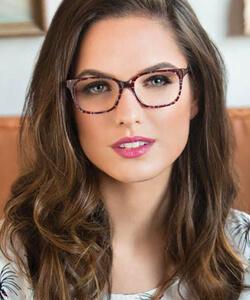 Model wearing Fysh eyeglasses